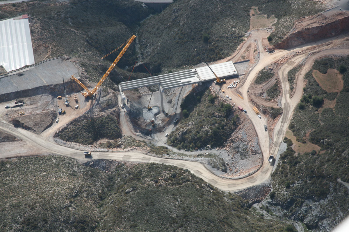 Autovía A-7 del Mediterráneo y N-340  Tramo: Carchuna - Castell del Ferro (Granada)