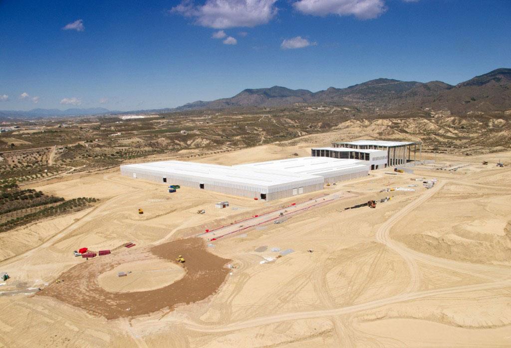 Fábrica de Cosentino , Almería