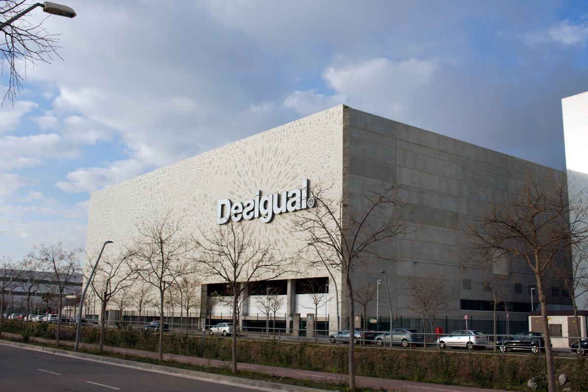 Centro Logístico de Desigual, Barcelona