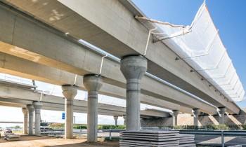 Pacadar lleva a cabo tareas de montaje en la autovía A-60 de Valladolid a León