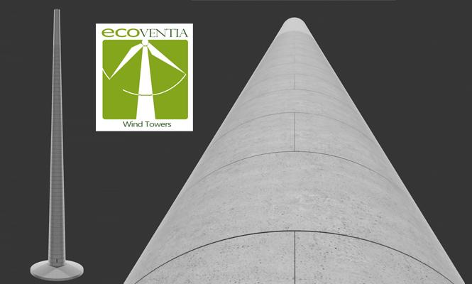 PACADAR-ECOVENTIA presenta su nuevo sistema de torres eólicas SSTT