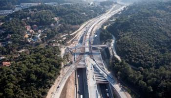 Bus/Hov Lane For Toll Highway C-58 (Spain)